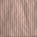 Striped vintage crumpled paper Royalty Free Stock Photo