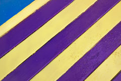Striped Wall Royalty Free Stock Image