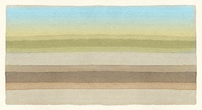 Striped watercolor background Royalty Free Stock Photography