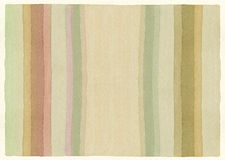 Striped watercolor background Stock Photography