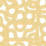 Striped waves seamless pattern. Background modern. Trendy abstract gradient backdrop. Minimalistic design. 70th royalty free stock photos