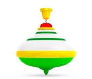 Striped Whirligig Toy Royalty Free Stock Image