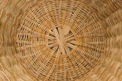 Striped wicker baskets Stock Photography