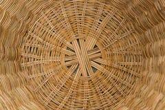 Striped wicker baskets Stock Image