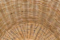 Striped wicker baskets Stock Photos