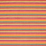 Striped wicker mat fragment Royalty Free Stock Image