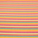 Striped wicker mat fragment Royalty Free Stock Photos