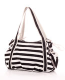 Striped women bag Royalty Free Stock Photography