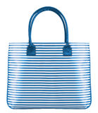 Striped women bag Stock Image