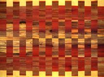 Striped wood pattern. Manipulated photo of wood grains Royalty Free Stock Images