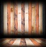 Striped wooden boards finishing Royalty Free Stock Photo