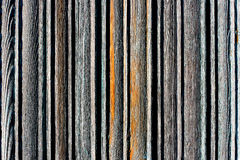 Striped wooden plate Royalty Free Stock Photo