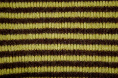 Striped wool fabric Stock Image
