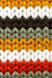 Striped wool texture Stock Images
