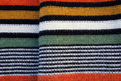 Striped wool texture Royalty Free Stock Photos