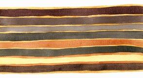 Stripes предпосылка акварели Стоковые Изображения