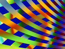 Stripes. Odd background of colorful stripes Royalty Free Stock Images