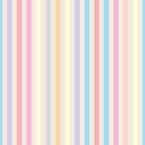 Безшовная пастель вектора stripes предпосылка Стоковые Изображения