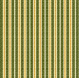 Stripes background - green / orange. Fabric - stripes abstract background, like a curtain or wallpaper vector illustration