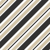 Stripes beige and black diagonal seamless pattern background illustration Stock Photo