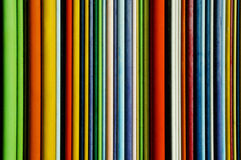 Stripes. Bright Colorful wooden stripes of Paris Stock Photo