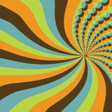 Stripes and circles. Abstract background with stripes and circles Royalty Free Stock Photography