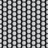 Stripes circles seamless background Stock Image