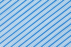 Stripes cloth background. Close up stripes blue and white fabric pattern texture background Royalty Free Stock Photos