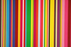 Stripes and Colors. Stripes of colors on a window pane Stock Photos