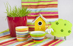 Stripes and colours royalty free stock images