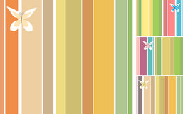 Stripes Design Set Stock Photo