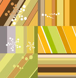 Stripes and dots background Royalty Free Stock Photos