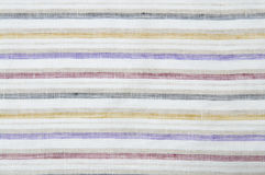Stripes fabric background close up Royalty Free Stock Image