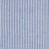 Stripes  fabric closeup , tablecloth texture. Blue  and white stripes  fabric closeup , tablecloth texture Stock Photo