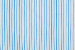 Stripes fabric texture. Close up stripes white and blue fabric pattern texture background Royalty Free Stock Images