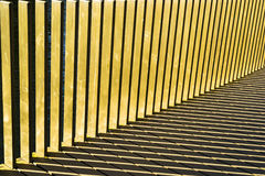 Stripes formed by sunlight, background Stock Photo