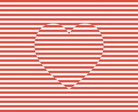 Stripes heart vector. Valentines day background illustration. Stripes heart vector. Valentines day background illustration royalty free illustration