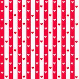 Stripes and Hearts Royalty Free Stock Photos