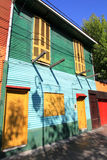 Stripes  of La Boca Royalty Free Stock Photo