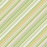 Stripes and laces green and white background Stock Images