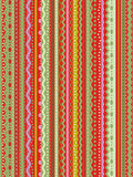 Stripes and laces seamless pattern Royalty Free Stock Photography