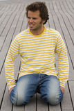 The Stripes men Stock Photo