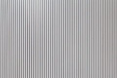 The stripes metal sheet pattern texture in white color. The stripes metal sheet pattern texture Stock Photo