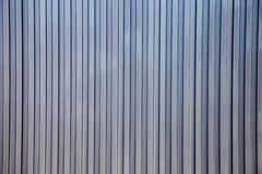 The stripes metal sheet pattern texture in white color. The stripes metal sheet texture Stock Photography