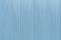 The stripes metal sheet texture in blue color. The stripes metal sheet texture Royalty Free Stock Photos