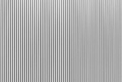 The stripes metal sheet texture in white color. The stripes metal sheet texture Stock Images