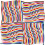 Stripes mix. Colored stripes,  art illustration; more stripes and textures in my gallery Royalty Free Stock Photo