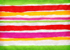 Stripes on paper Stock Photos