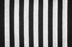 Stripes pattern on black fabric Stock Photo