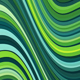 Stripes pattern with undulate lines and curves background. Vector illustration Stock Image